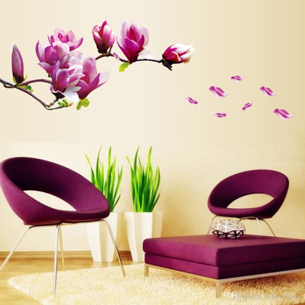 Diy Art Decals Vinyl Wallpaper Mural Living Room Bedroom - Home Stickers , HD Wallpaper & Backgrounds