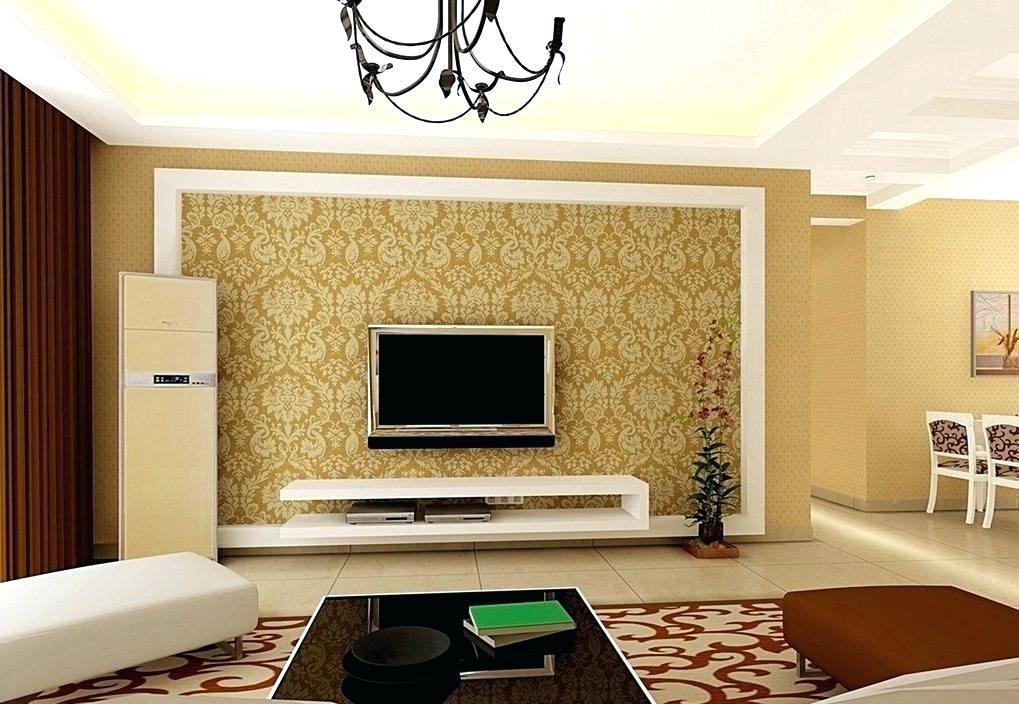 Wall Paper Design Unique Wallpapers Wallpaper Designs - Tv Wall Paint Design , HD Wallpaper & Backgrounds