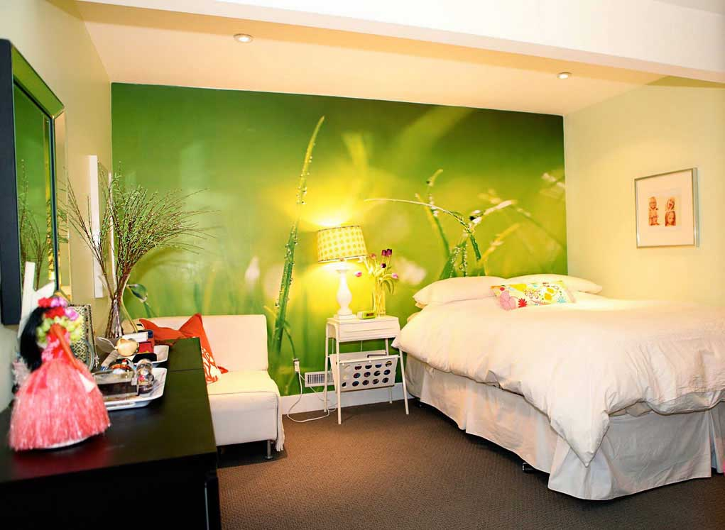 Wallpaper Bedroom Design Ideas - Wall Paper Designs For ...