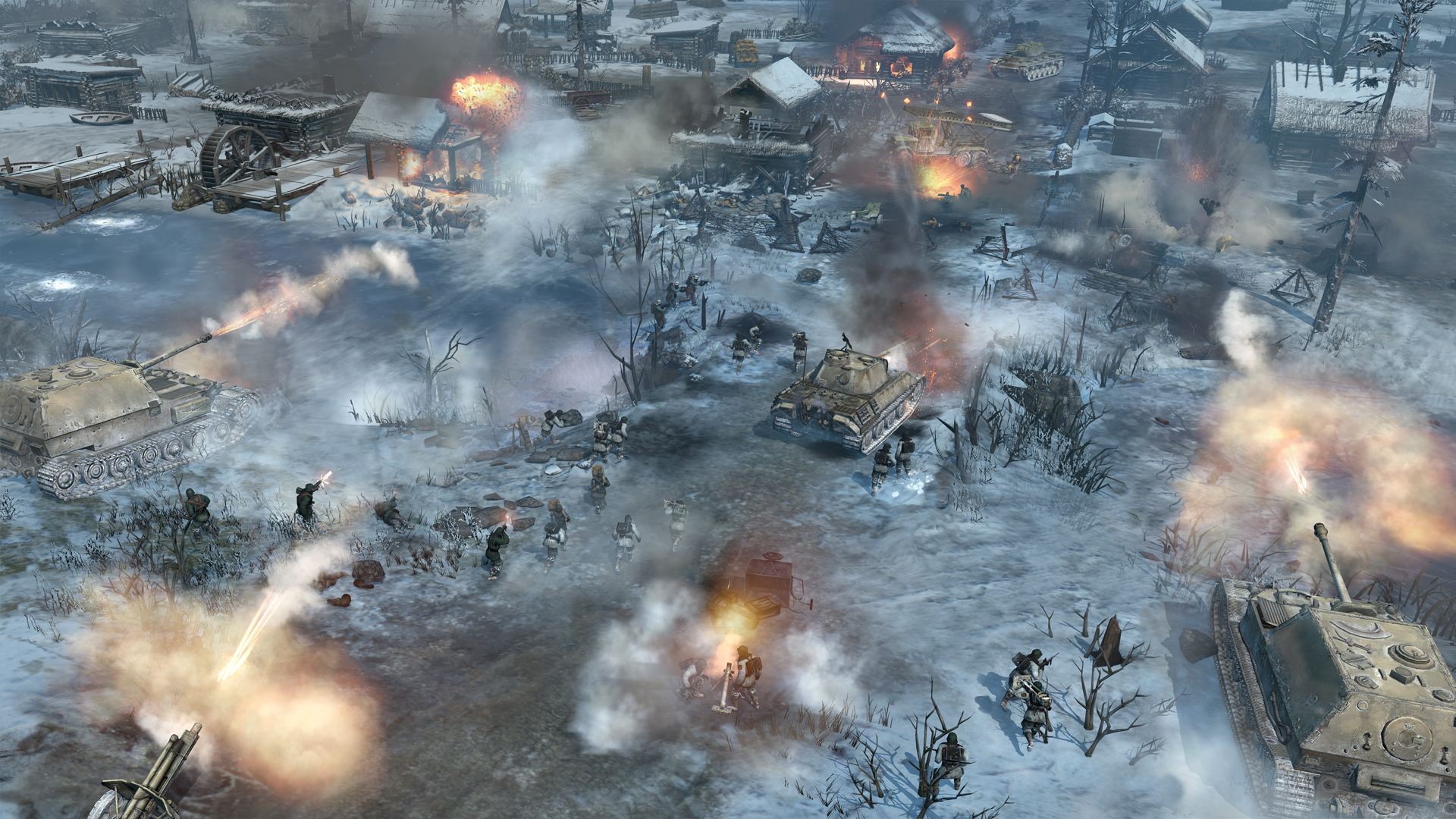 Company Of Heroes 559389 Hd Wallpaper Backgrounds