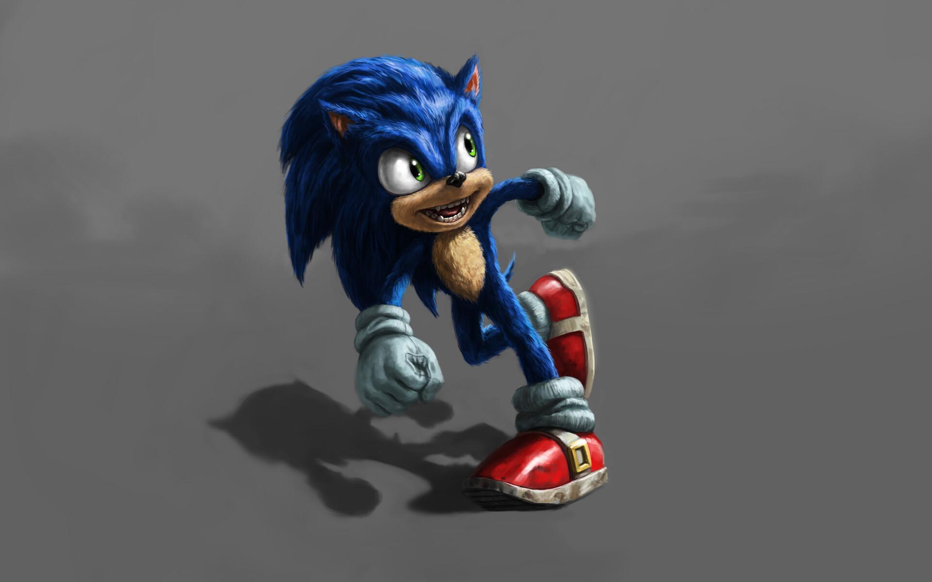 Sonic Live Action Concept Cartoon 560741 Hd Wallpaper