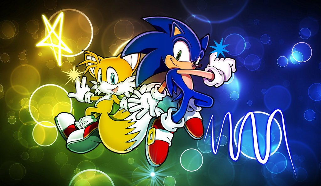 Sonic Wallpaper Android 3d The Galleries Of Hd Wallpaper - Sonic And Tails Wall Paper , HD Wallpaper & Backgrounds