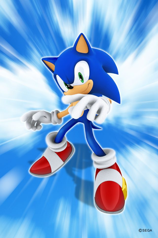 Sonic The Hedgehog Iphone 4 Wallpaper Sonic The Hedgehog