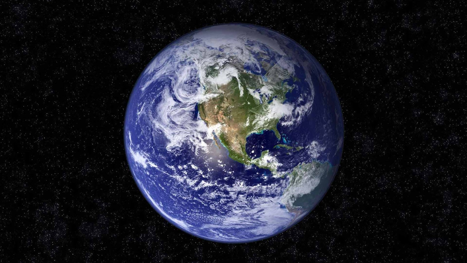 Wallpaper Luar Angkasa Bergerak - Hd Picture Of Earth From Space , HD Wallpaper & Backgrounds