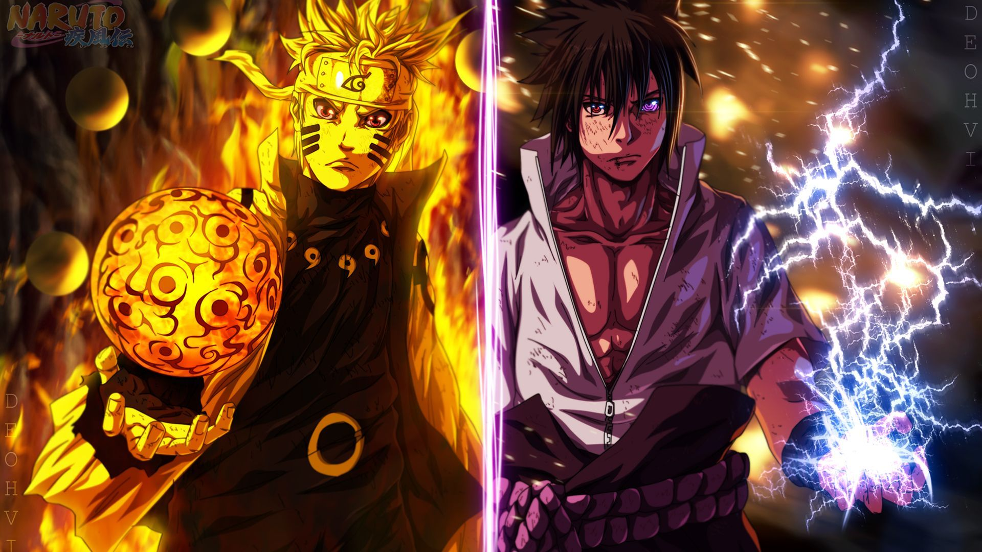 56 562260 naruto vs sasuke 4k wallpaper for android naruto
