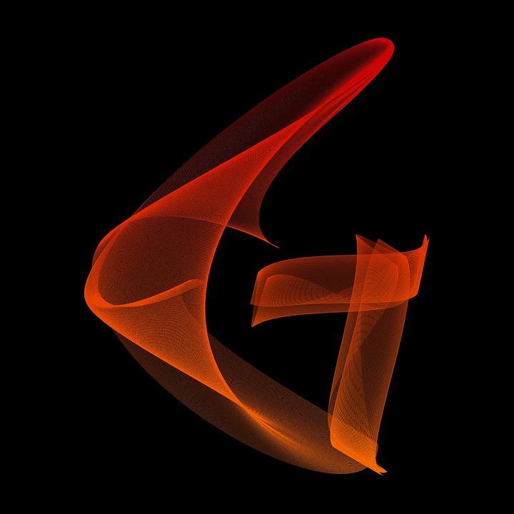 Letter G Particles Alphabet Lines ร ป ต ว อ กษร ภาษา อ งกฤษ พ น หล ง ส ดำ 563079 Hd Wallpaper Backgrounds Download