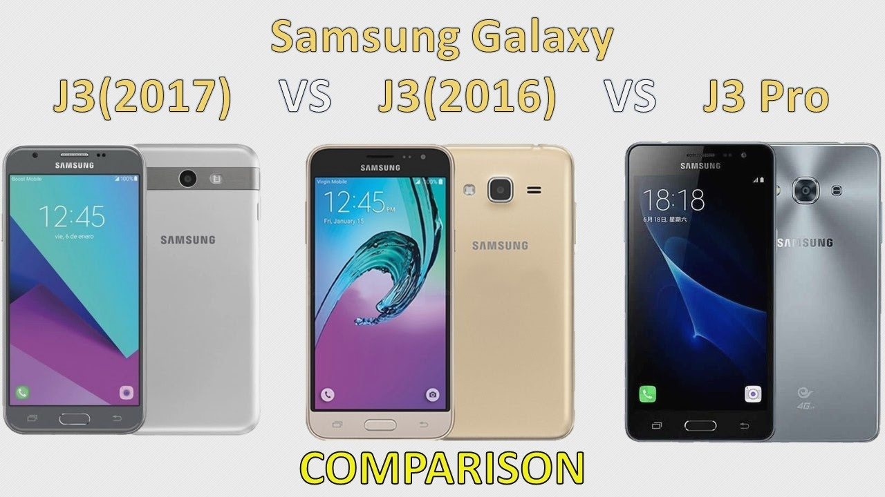 Samsung Galaxy J3 2017 Vs J3 2016 Vs J3 Pro Parison Samsung Galaxy 563370 Hd Wallpaper Backgrounds Download