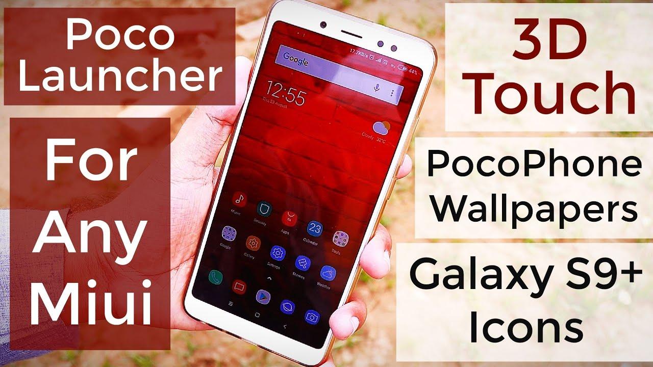 Miui 10 Poco Launcher Apk & Wallpapers Download Now - Iphone , HD Wallpaper & Backgrounds