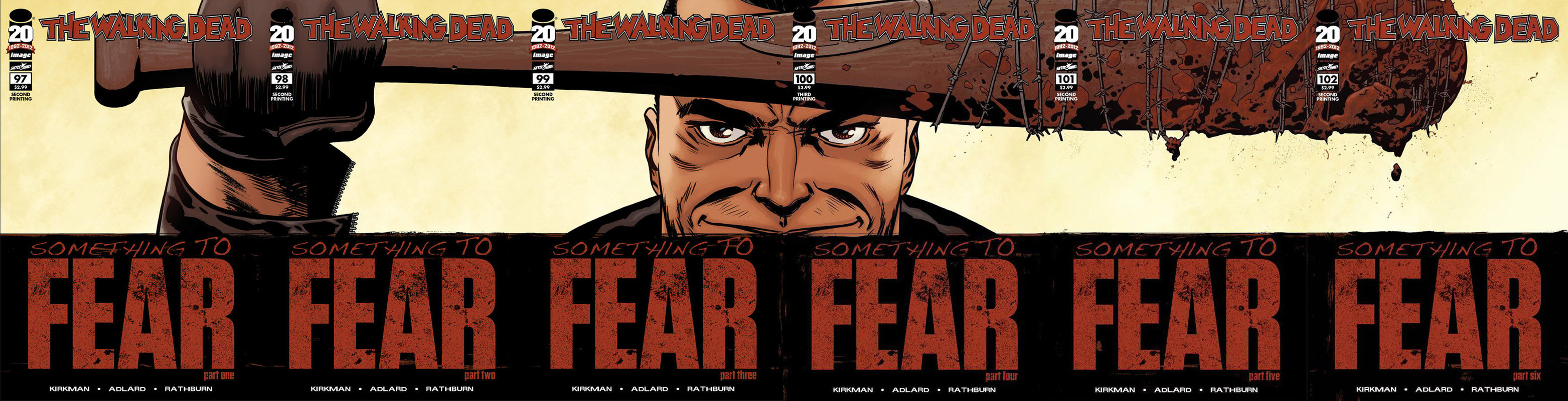 The Walking Dead Walking Dead Something To Fear Covers 566452