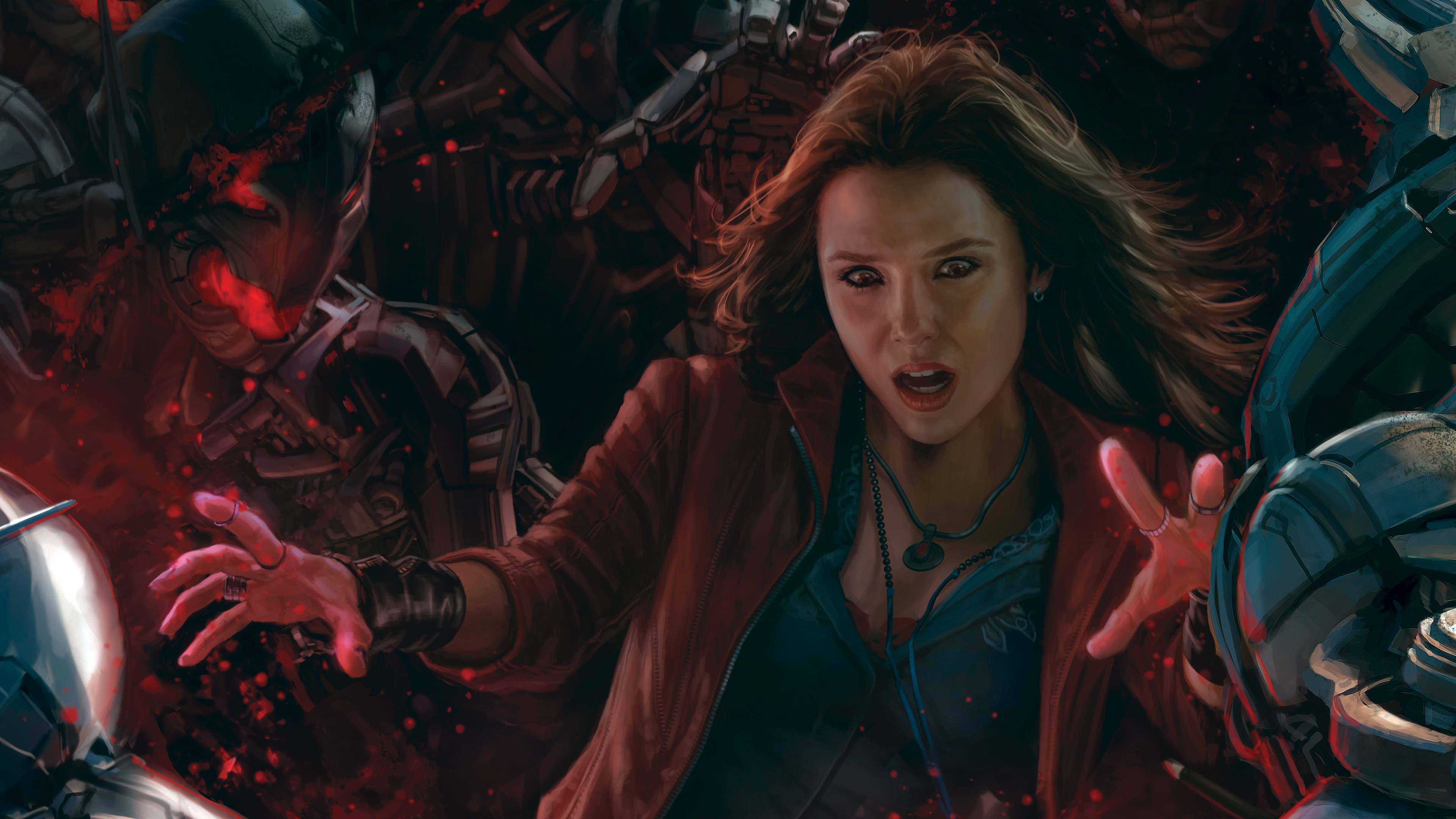 Scarlet Witch 568355 Hd Wallpaper Backgrounds Download