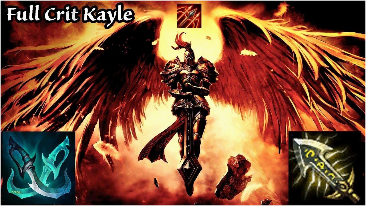 Troll Wallpaper Awesome Full Crit Kayle Games - Kayle League Of Legends Fan Art , HD Wallpaper & Backgrounds