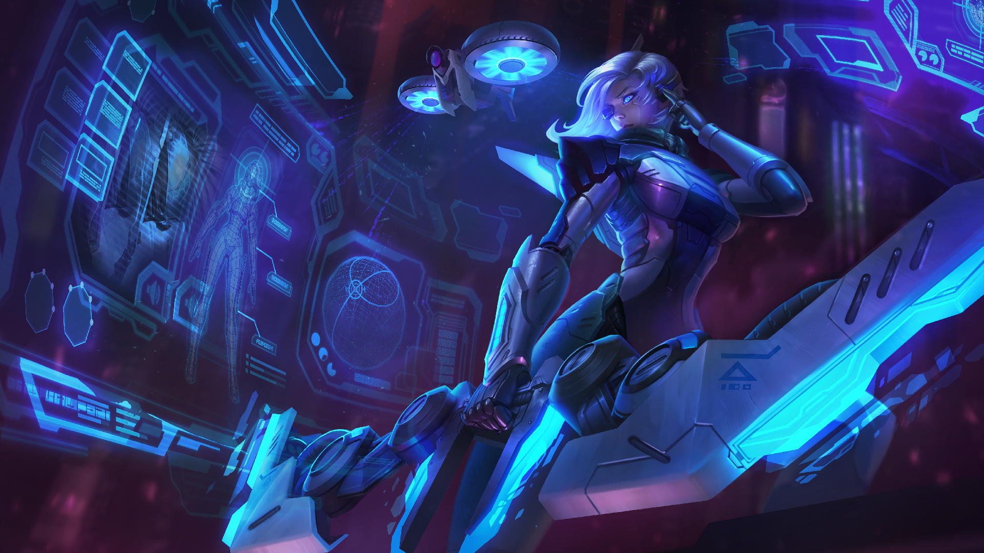 League Of Legends Project Skins Wallpapers Project Ashe Splash