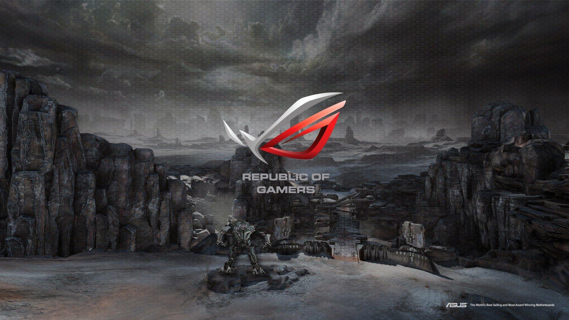 Republic Of Gamers Wallpaper - Asus Rog Full Hd , HD Wallpaper & Backgrounds