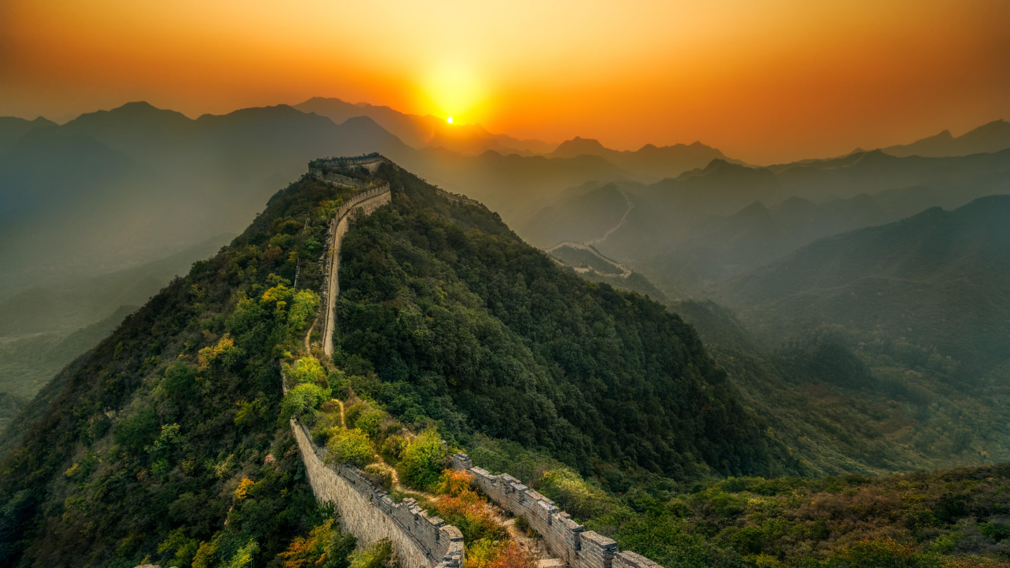 Great Wall Of China Abandoned 571407 Hd Wallpaper