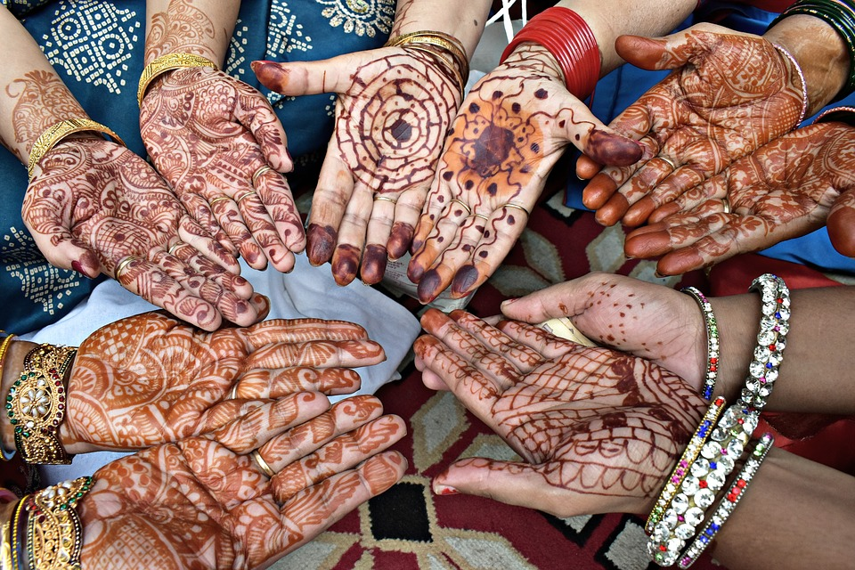Mehndi, Hands, Bangles, Design, Festive - Mehndi Hands With Bangles , HD Wallpaper & Backgrounds