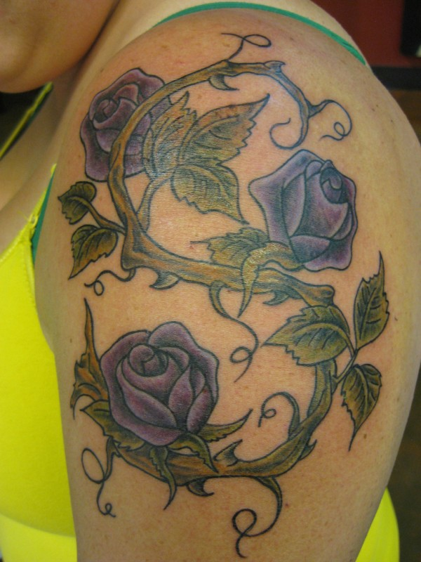 Women Rose Tattoo Cute Designs For Men Mens Rose Vine Tattoos