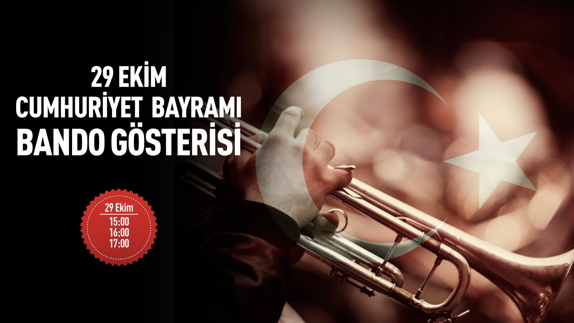 29 Ekim Cumhuriyet Bayrami Bando Gosterisi Apocalipse A Volta De