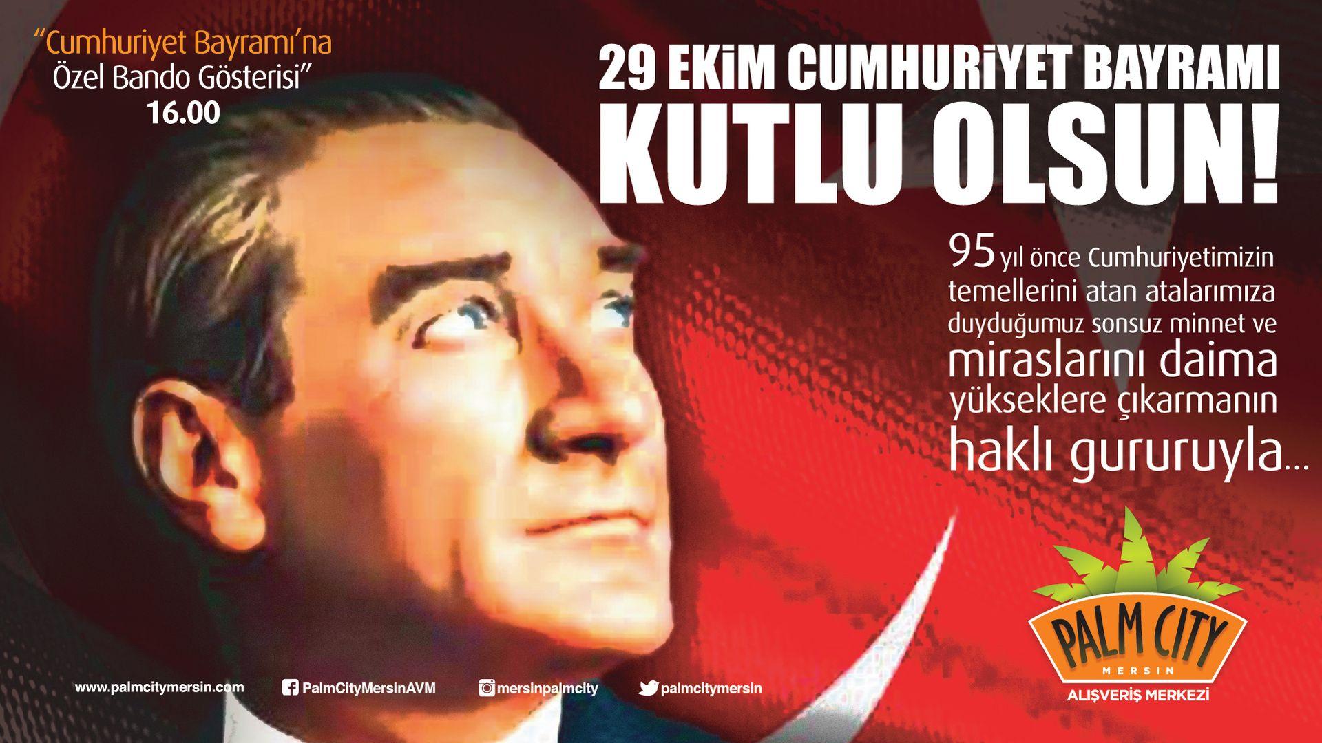 29 Ekim Cumhuriyet Bayrami Kutlu Olsun Palm City 577355 Hd
