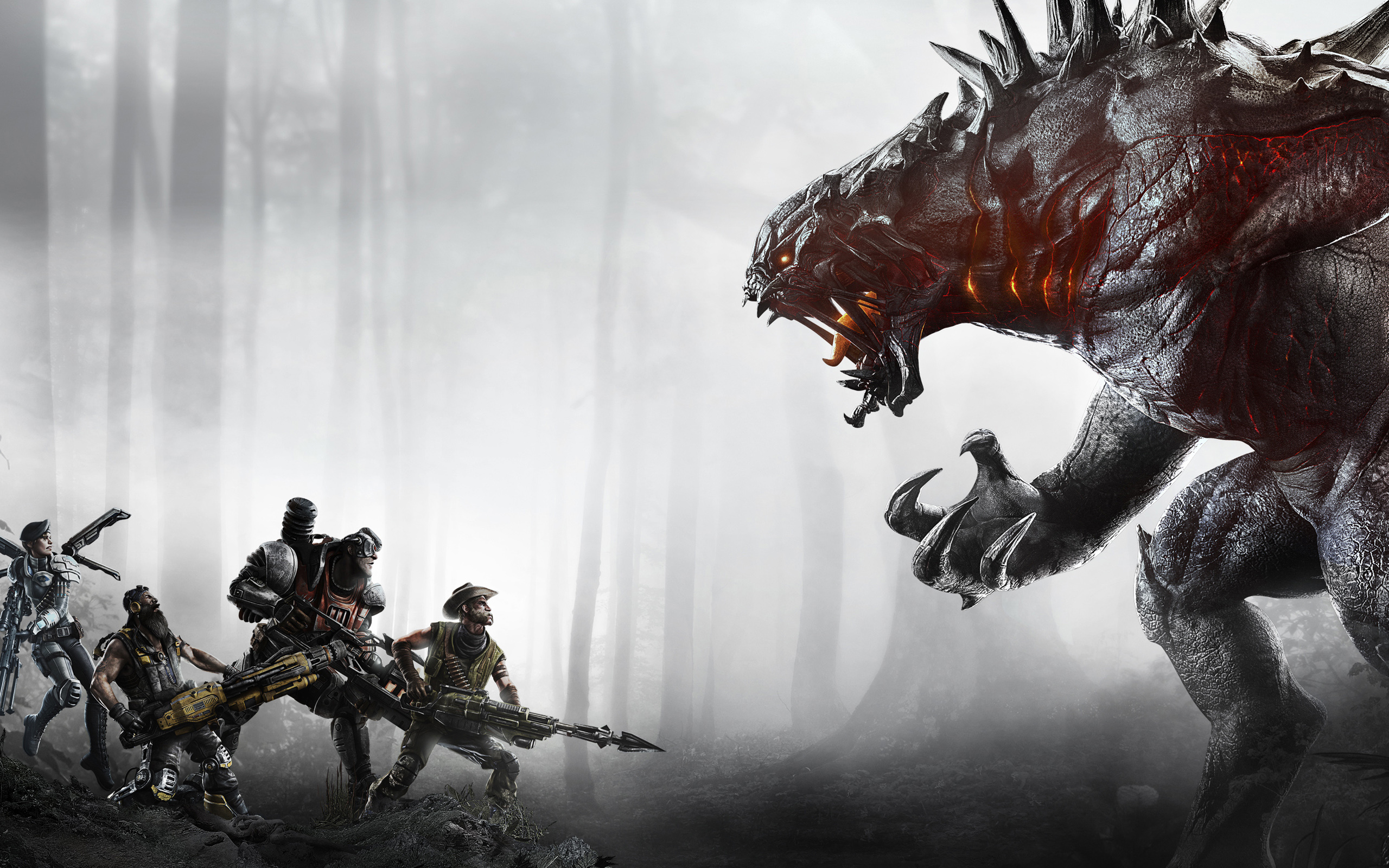 Humble Store Offers 2k Games Publisher Sale This Weekend, - Evolve Game , HD Wallpaper & Backgrounds