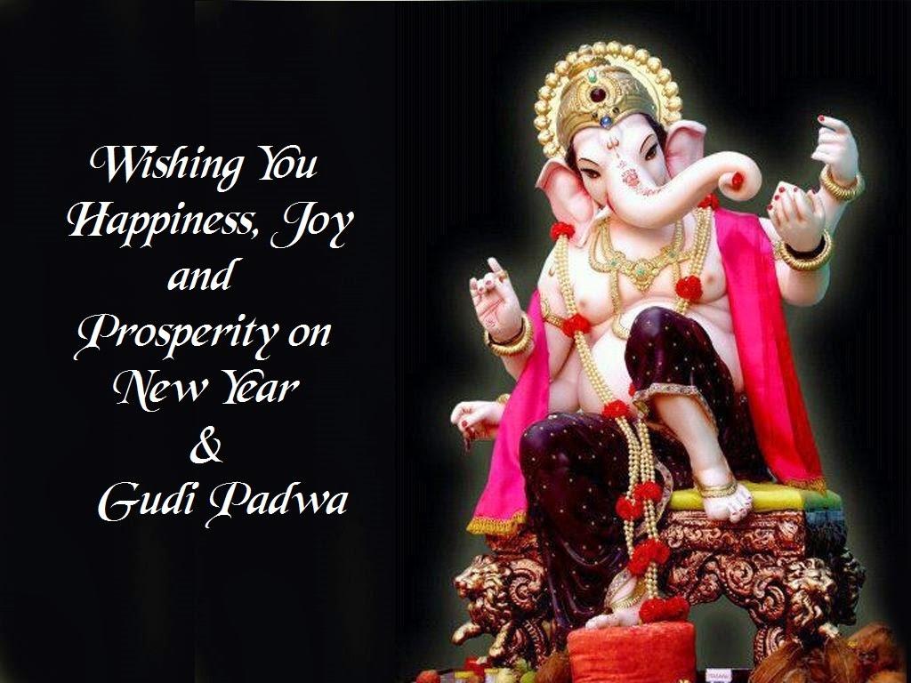 Gudi Padwa & Happy New Year - Ganesh Chaturthi Video For Whatsapp Status , HD Wallpaper & Backgrounds