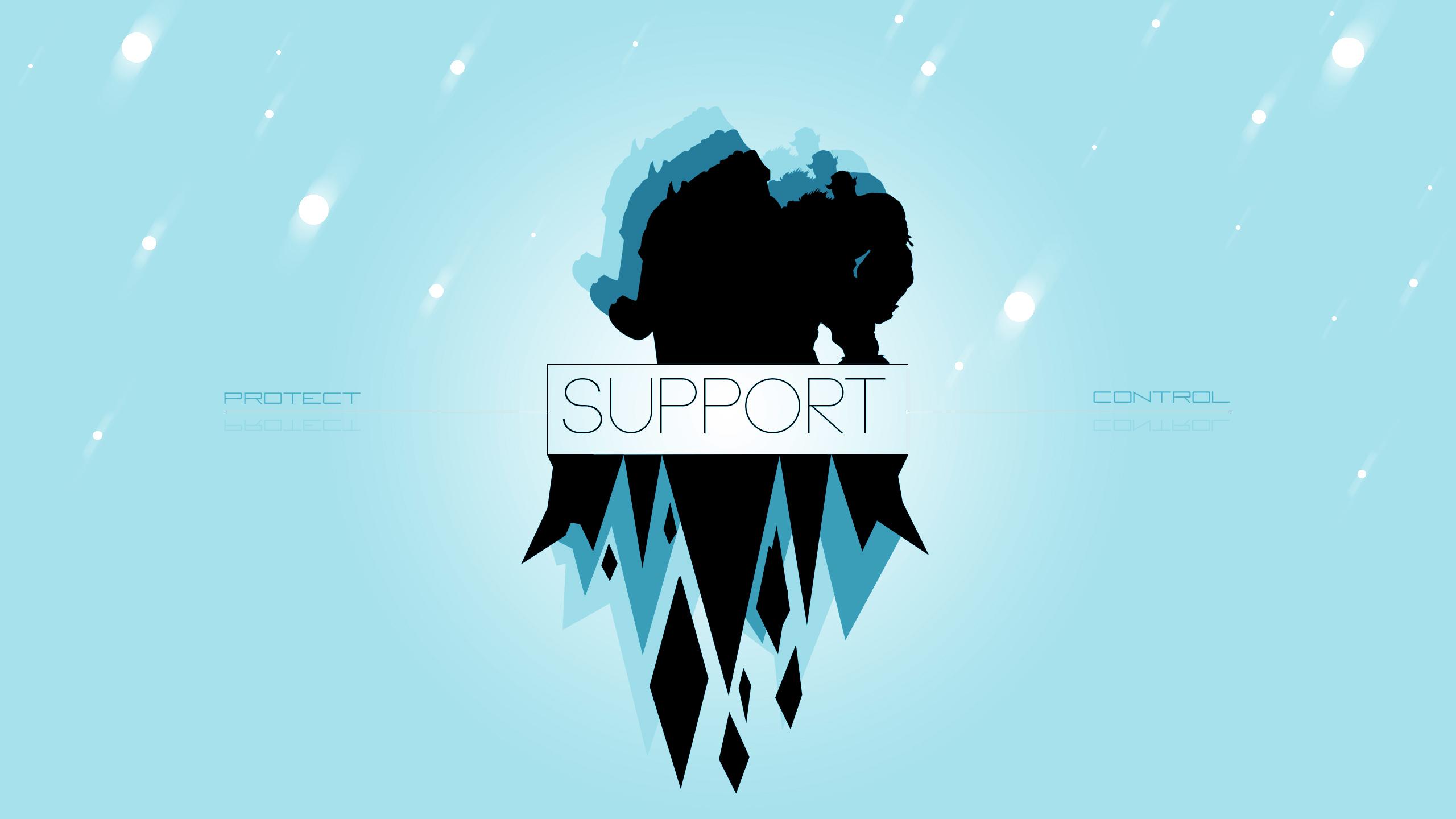 Support By Aynoe Hd Wallpaper Fan Art Artwork League - Support Phone Wallpaper League Of Legends , HD Wallpaper & Backgrounds