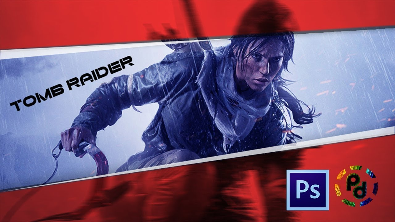 Photoshop Dersleri̇ - New Tomb Raider Game , HD Wallpaper & Backgrounds