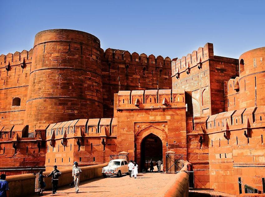 Agra Fort Wallpaper - Agra Fort , HD Wallpaper & Backgrounds