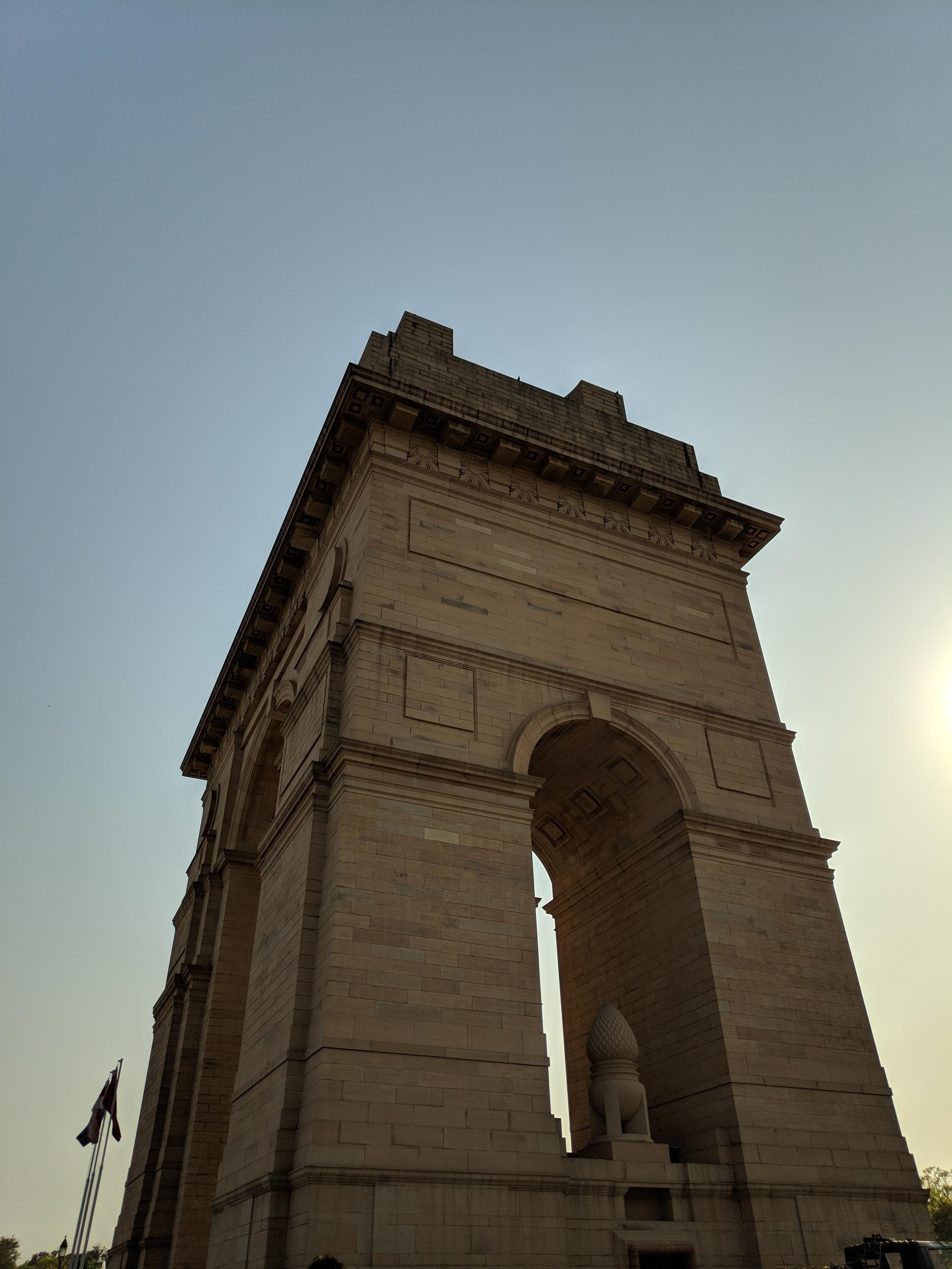 India Gate Side View - Triumphal Arch , HD Wallpaper & Backgrounds