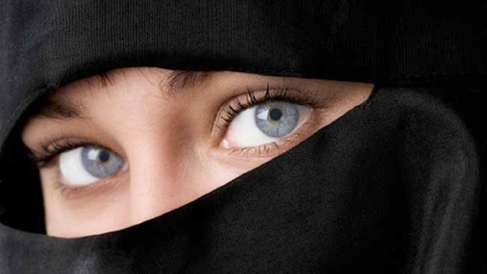 Burka Beautiful Eyes Hd Wallpaper - Beautiful Eyes In Burkha , HD Wallpaper & Backgrounds