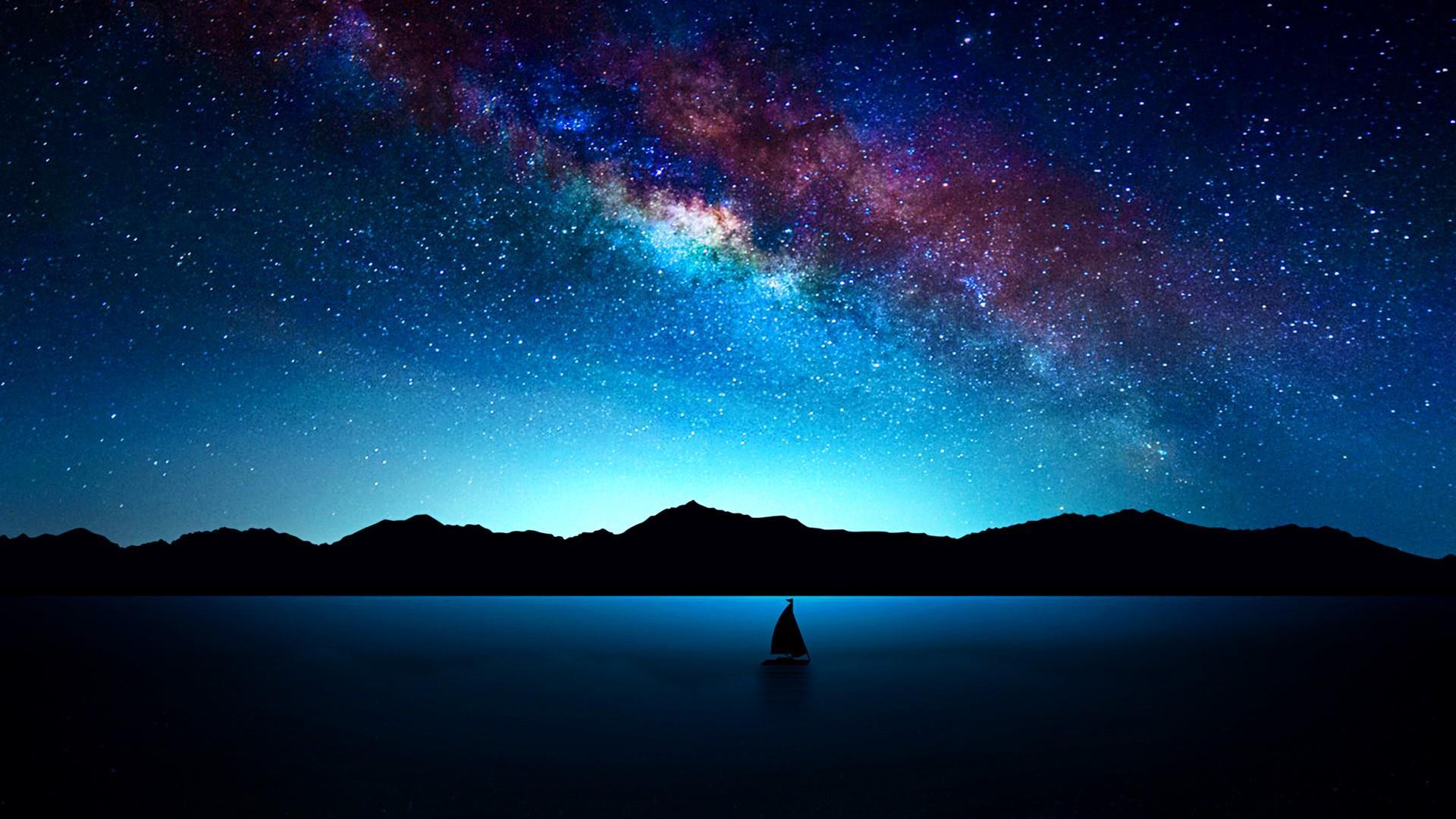 Landscape Portrait Milky Way 587748 Hd Wallpaper Backgrounds Download