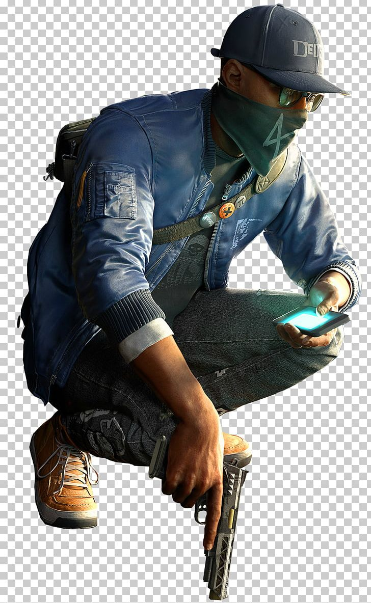 Watch Dogs 2 Desktop Video Game Png - Marcus Watch Dogs 2 Jacket , HD Wallpaper & Backgrounds