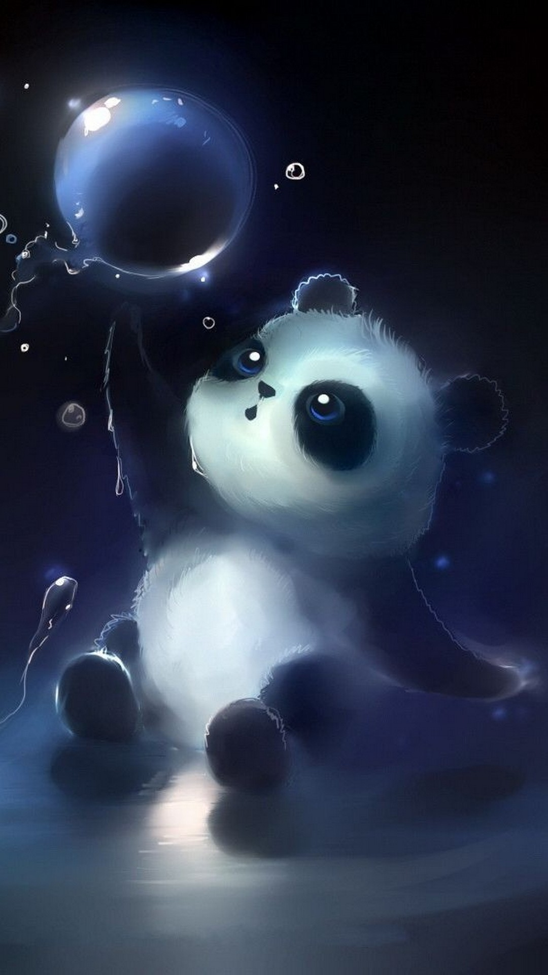 Android Wallpaper Hd Baby Panda With Hd Resolution - Fondos De Pantalla De Pandas , HD Wallpaper & Backgrounds