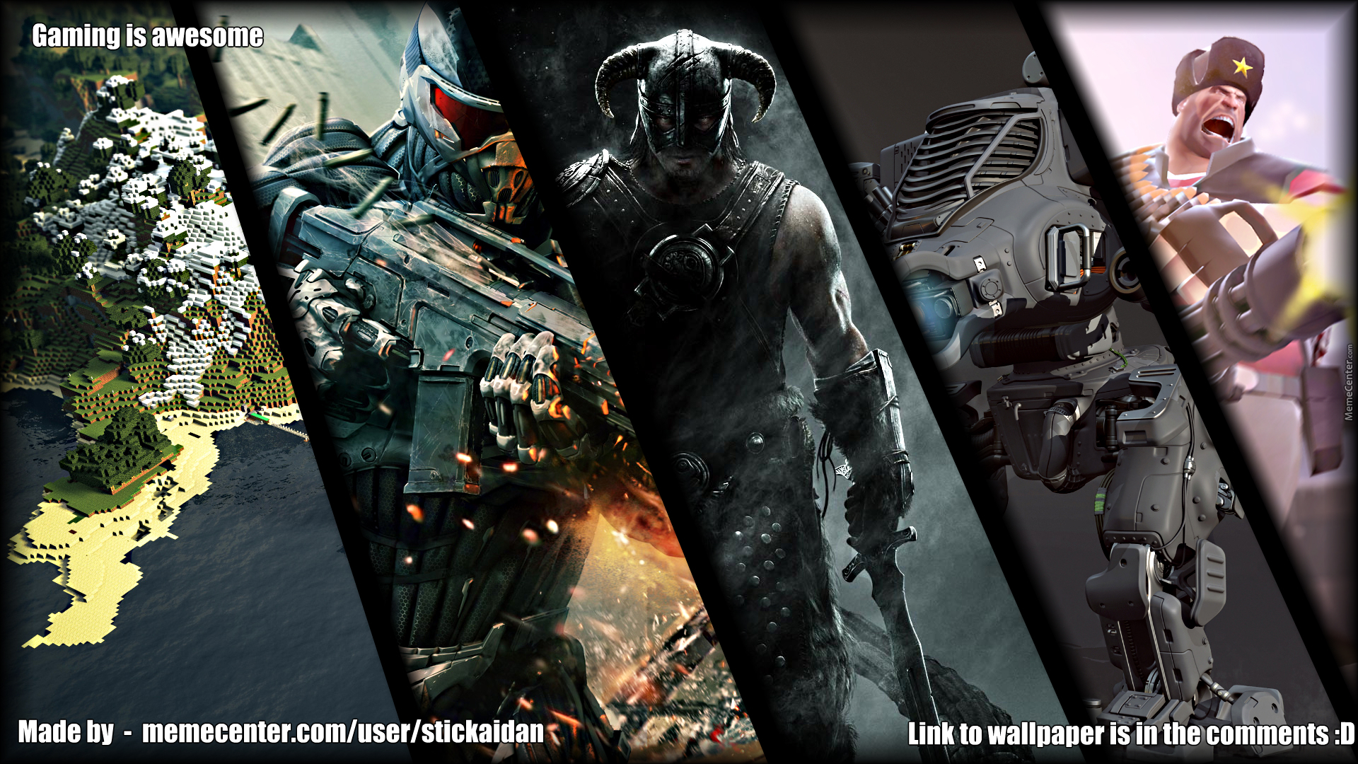 Awesome Video Game Desktop Backgrounds , HD Wallpaper & Backgrounds