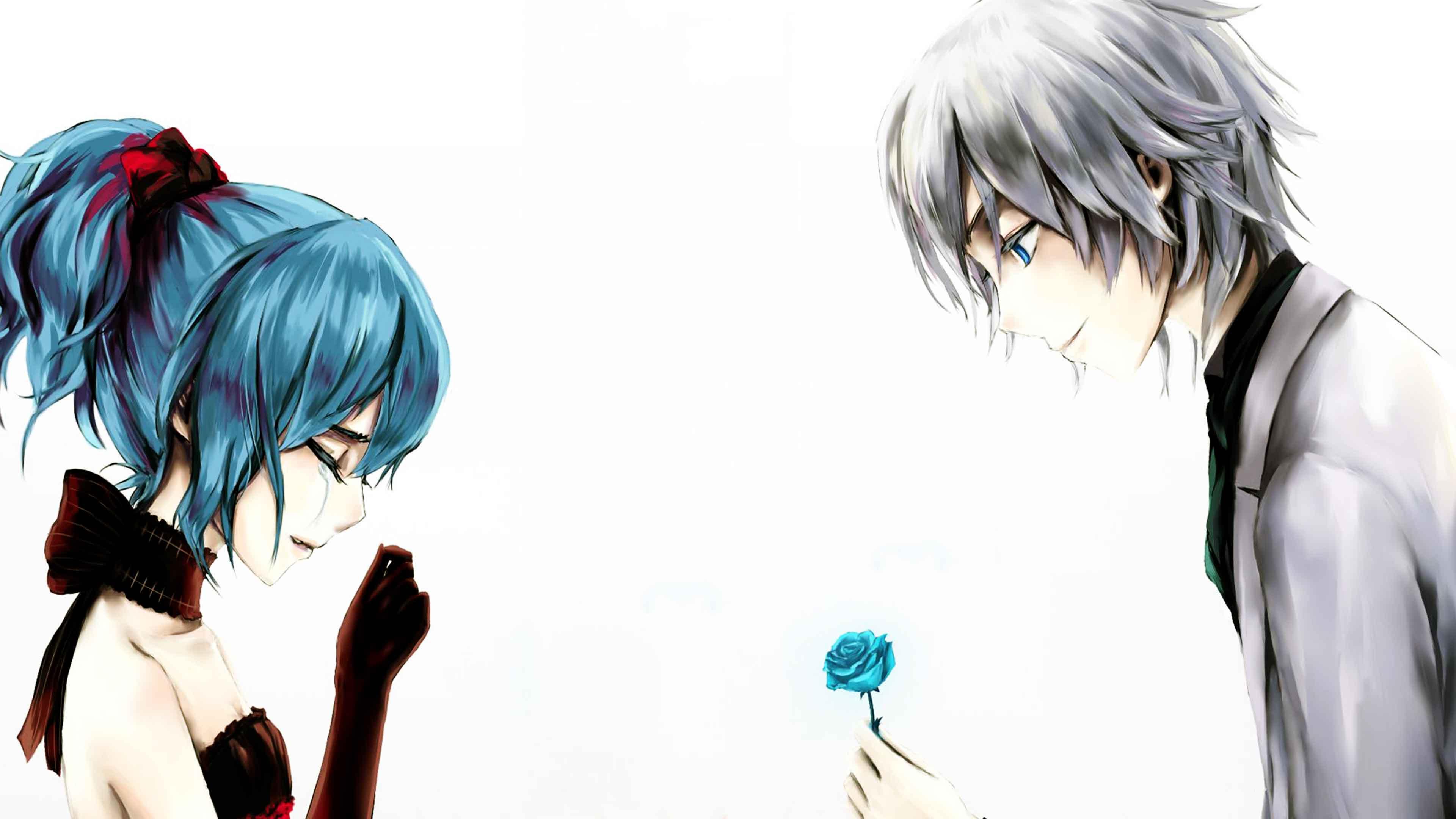 59 595667 3d love couple pic sad anime girl and