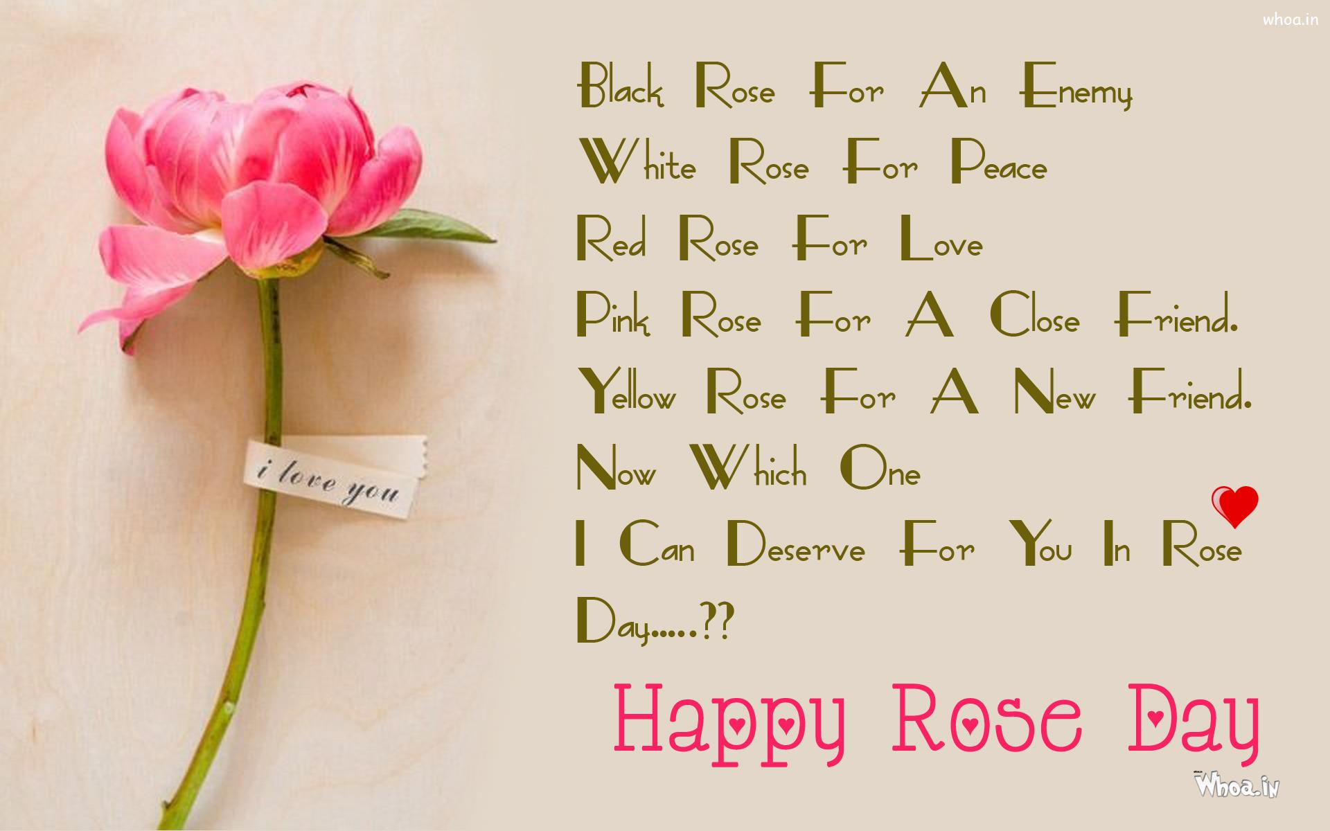 Rose Day Quotes For Husband , HD Wallpaper & Backgrounds