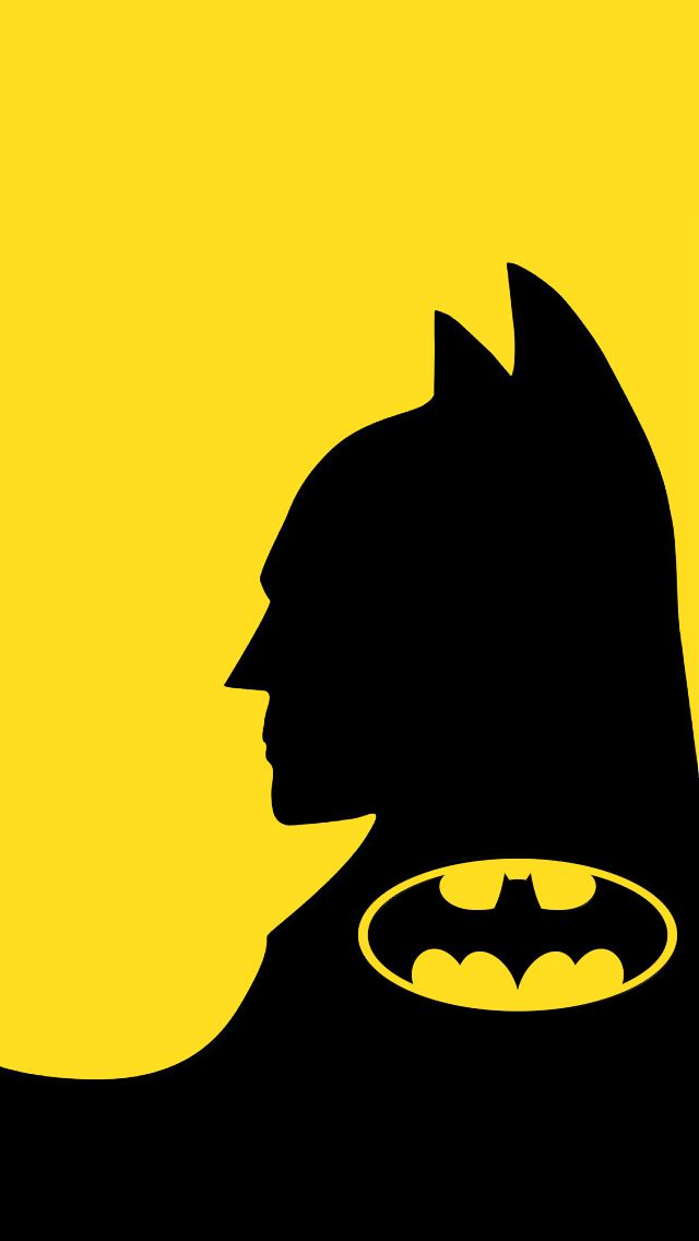 Batman Cell Phone Wallpaper Batman Logo Black And Yellow