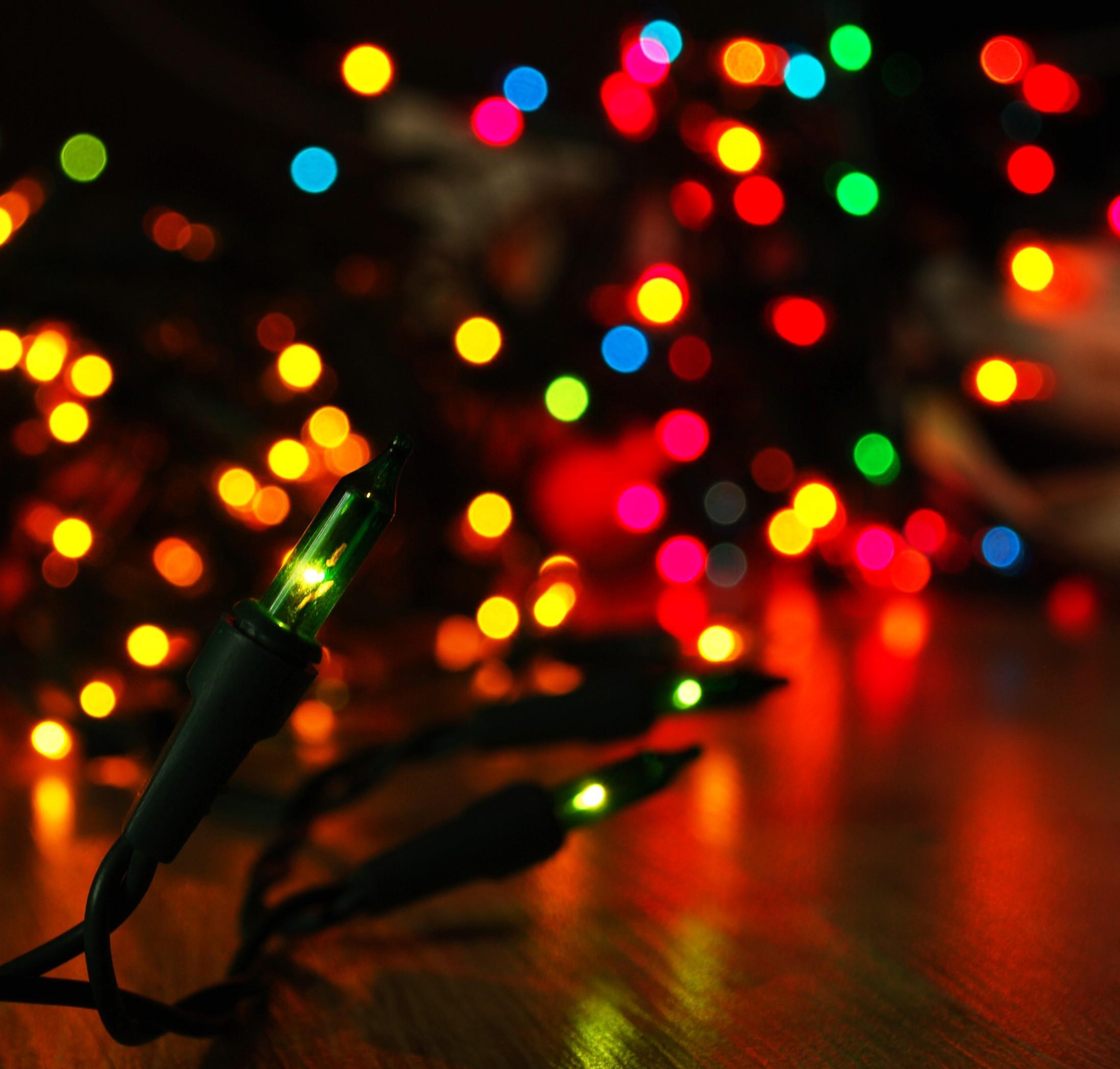 Christmas Lights Desktop Hd Wallpapers Background Tumblr
