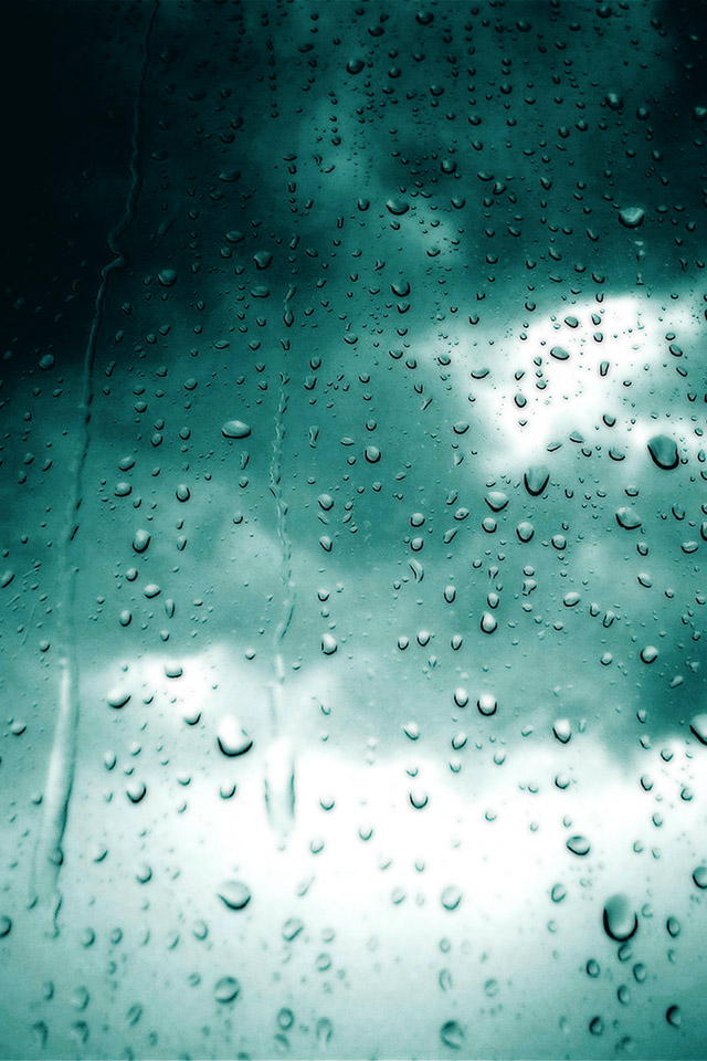 Com Apple Wallpaper Raining Saturday Live Iphone4 Rainy Day