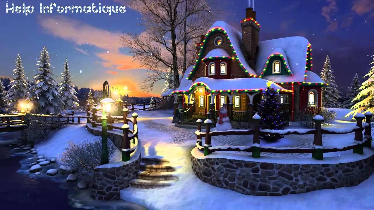 Christmas Rink Live Wallpaper - Merry Christmas 3d Screensaver , HD Wallpaper & Backgrounds