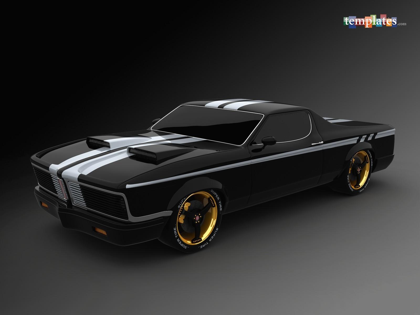 Laptop Live Wallpaper Hd - Black American Muscle Cars , HD Wallpaper & Backgrounds