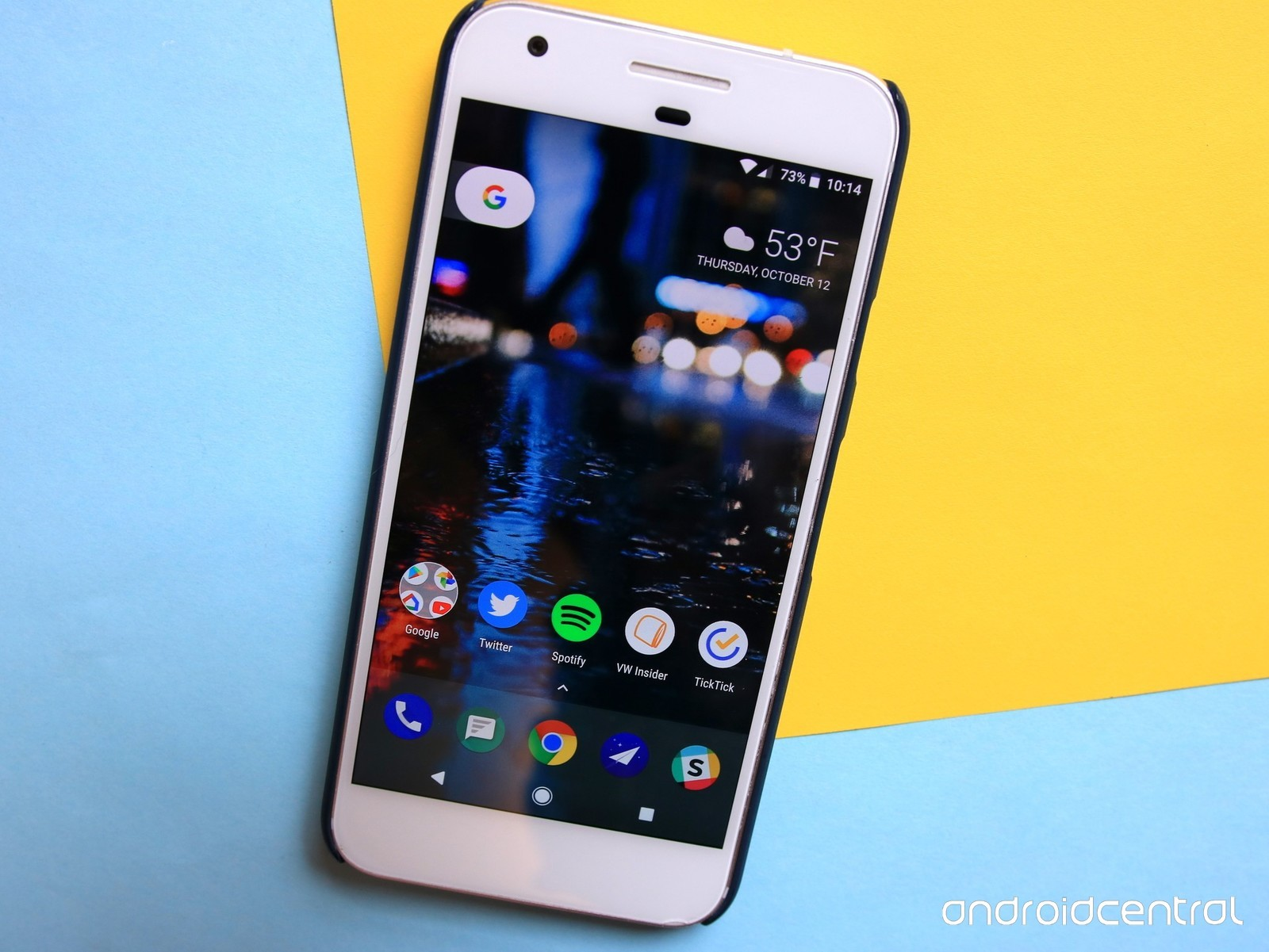 Google Recently Added A Few New Selections To The App, - Google Pixel 2 Spotify , HD Wallpaper & Backgrounds