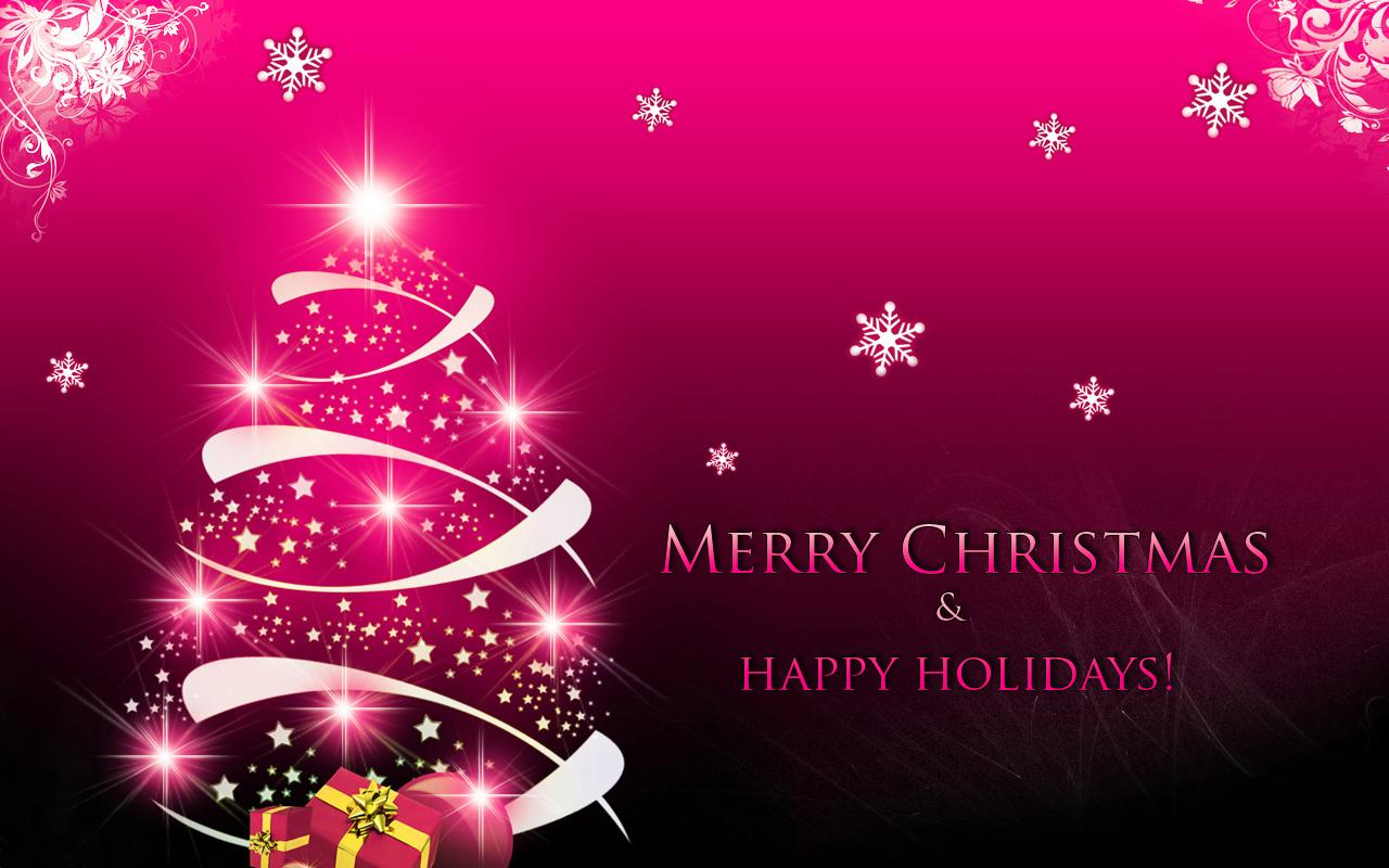 Christmas Wallpapers - Merry Christmas And Happy Holidays , HD Wallpaper & Backgrounds