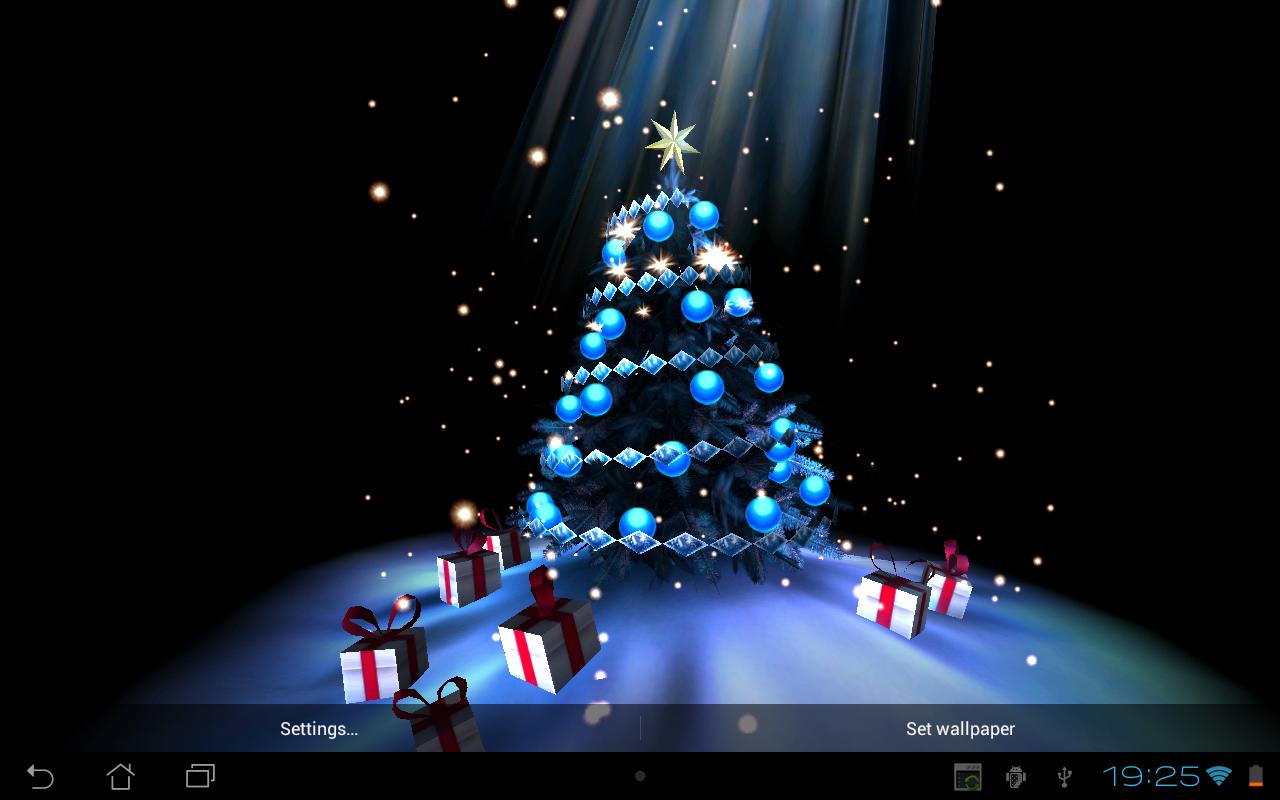 Tree Live Wallpaper - Christmas Tree , HD Wallpaper & Backgrounds