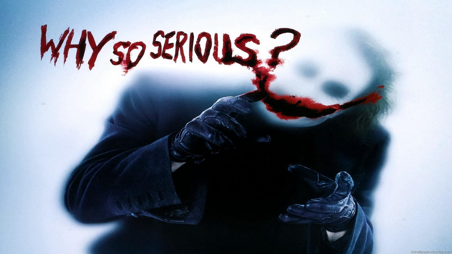 Joker Hd Wallpapers 1080p Joker Why So Serious 64000