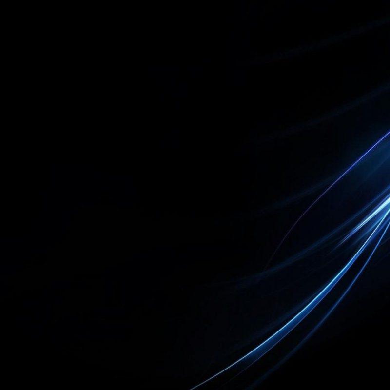 blue full hd black wallpaper