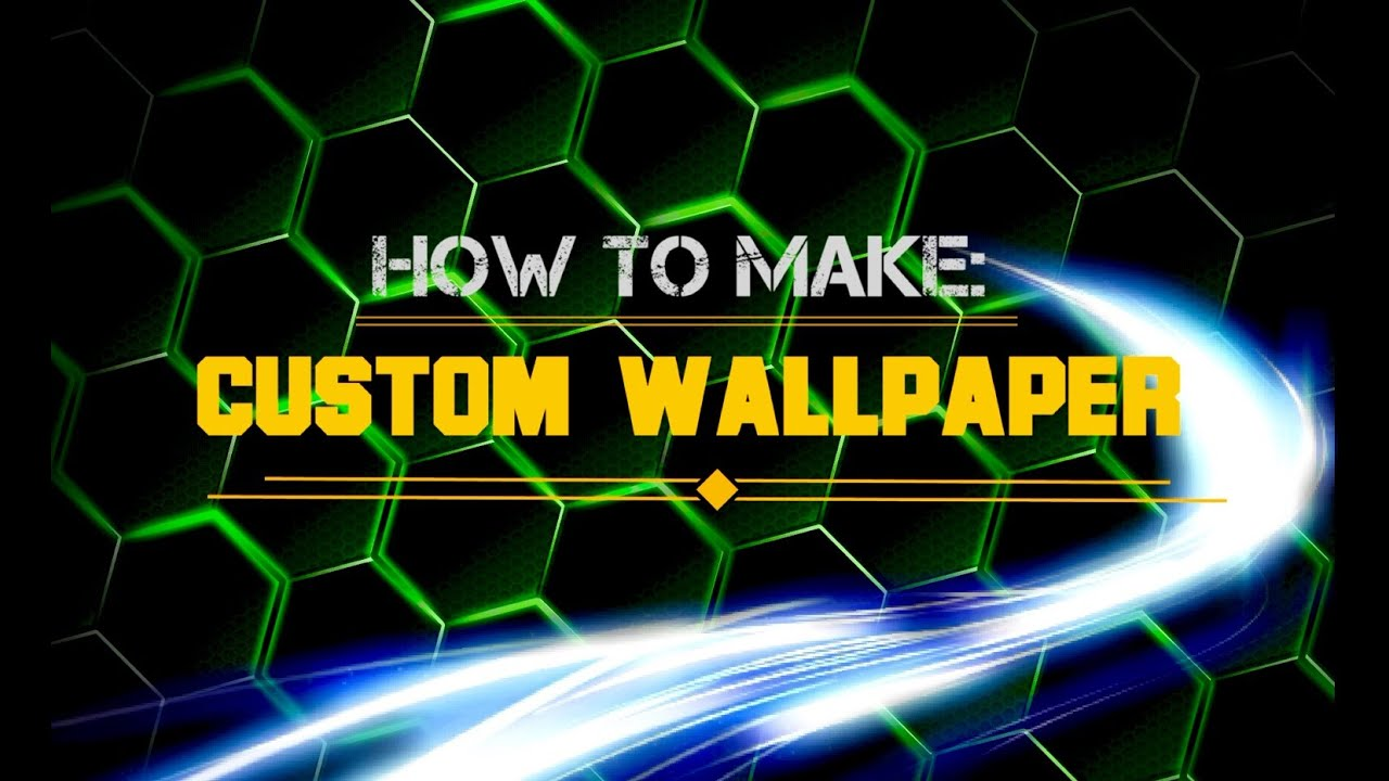 How To Make A Custom Wallpaper For Youtube Channel Site En
