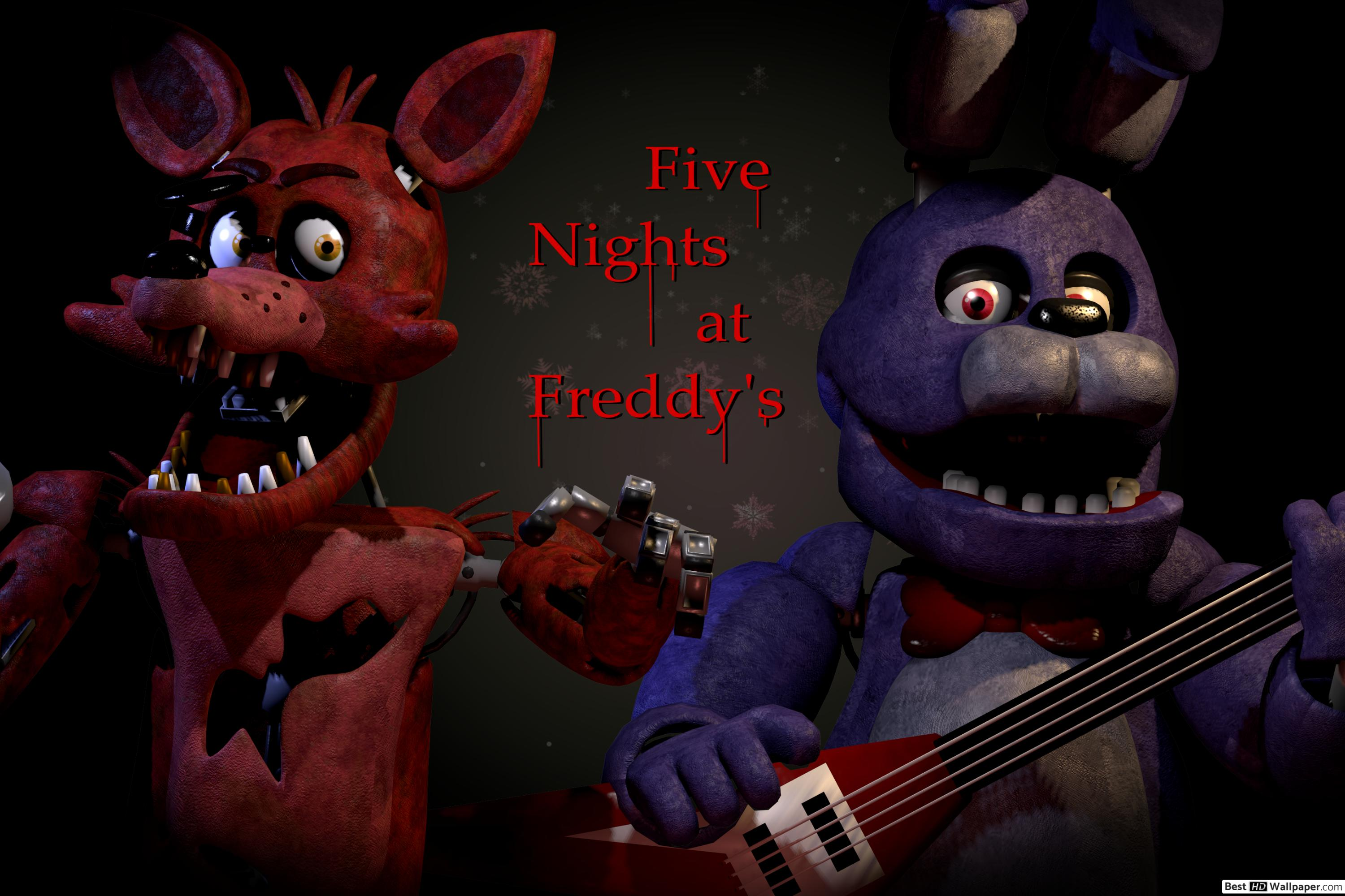Standard Bonnie Five Nights At Freddy S 65909 Hd Wallpaper