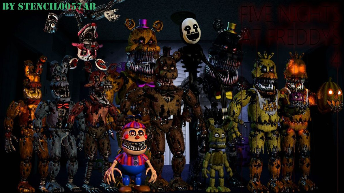 Wallpapers Five Nights At Freddys Five Nights At Freddy S 4