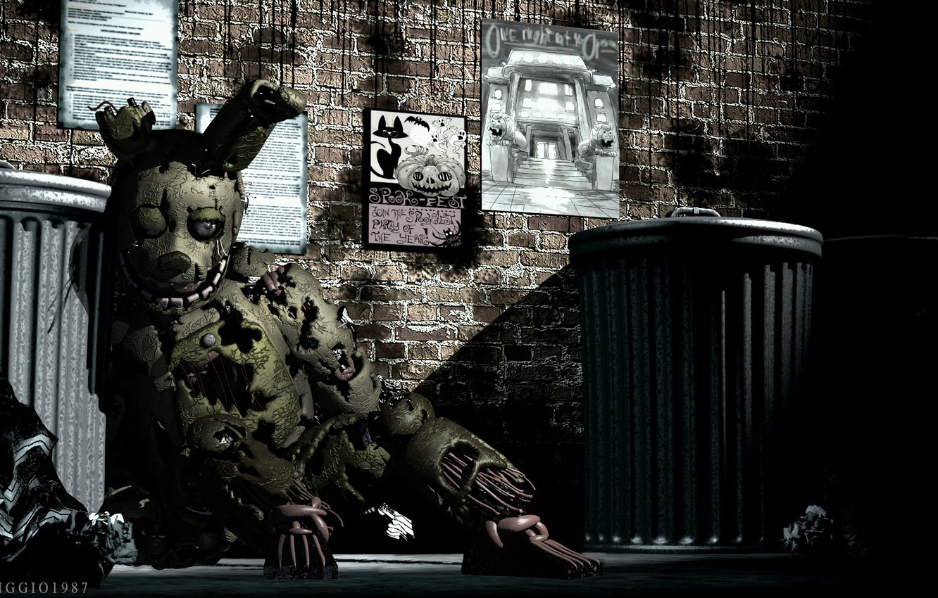 Photo Wallpaper The Game, Doll, Five Nights At Freddy's, - Fnaf 6 Rare Screens , HD Wallpaper & Backgrounds