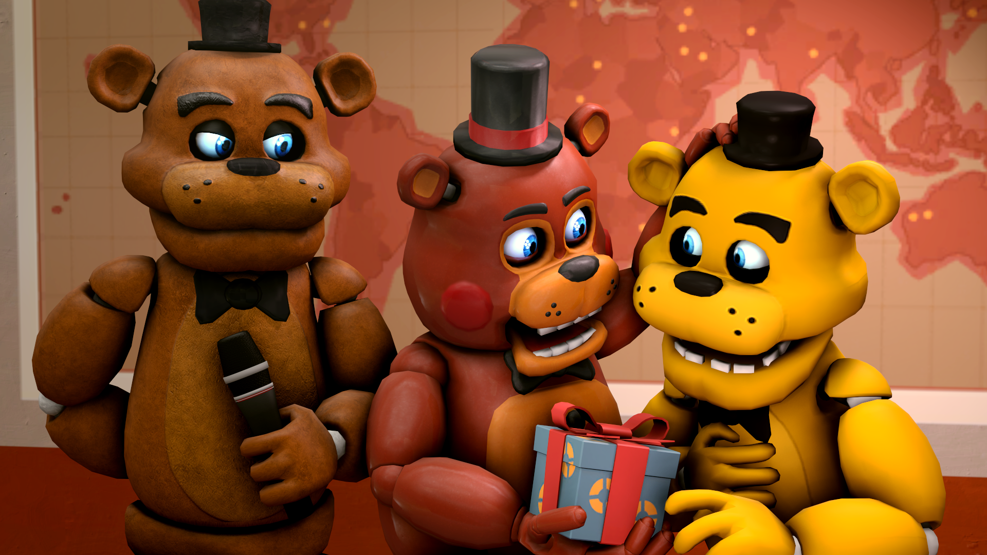 View All Five Nights At Freddy S Wallpapers Fnaf Toy Freddy And